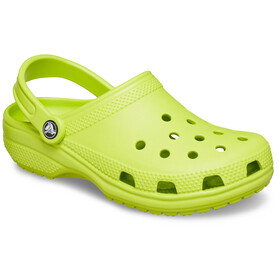 Crocs Classic Sandaler, lime punch
